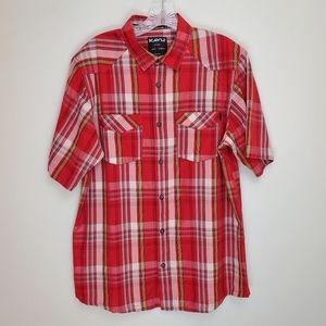 Kavu Dundee button up short sleeve shirt Q